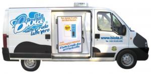 Biolà raw milk truck