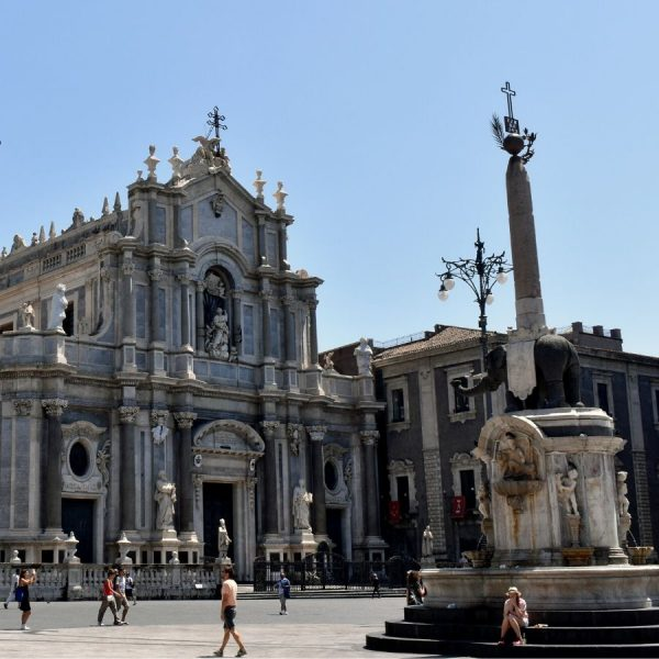 cooking in Catania, Sicily