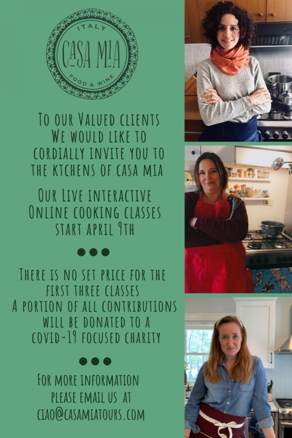 #whatscooking live online cooking classes