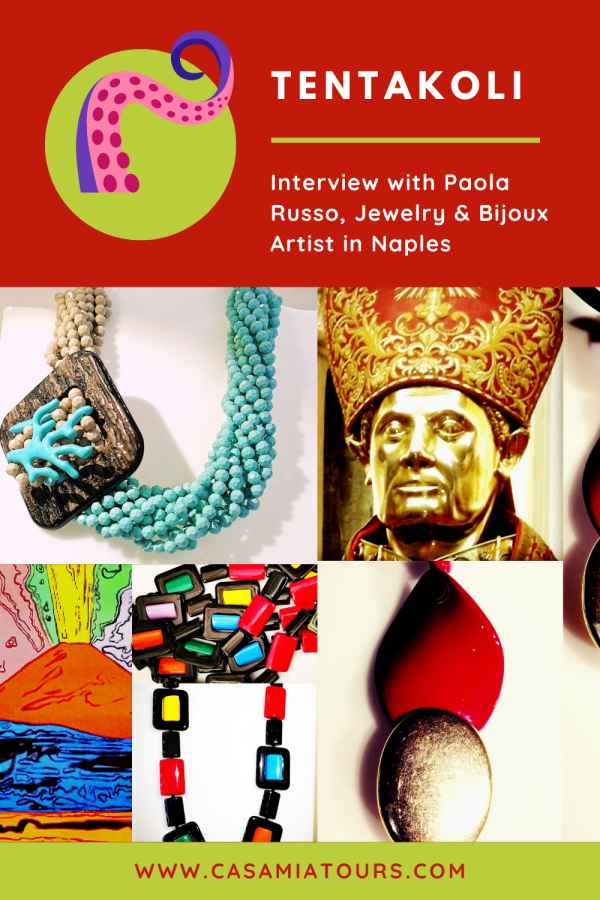 tentakoli jewelry bijoux in Naples