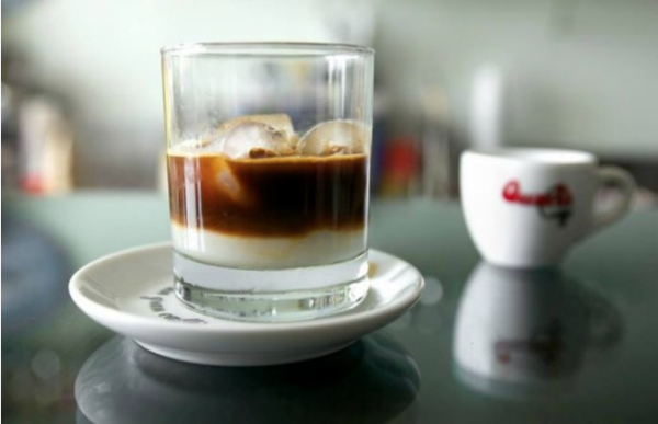 caffè leccese is one of many Italian iced coffee beverages