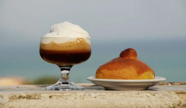 granita di caffè is one of many Italian iced coffee beverages