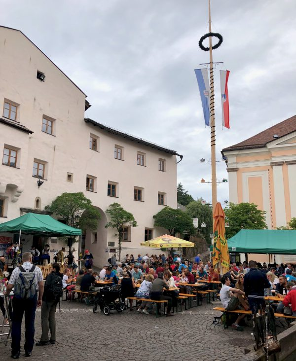sagra in a small town of South Tyrol