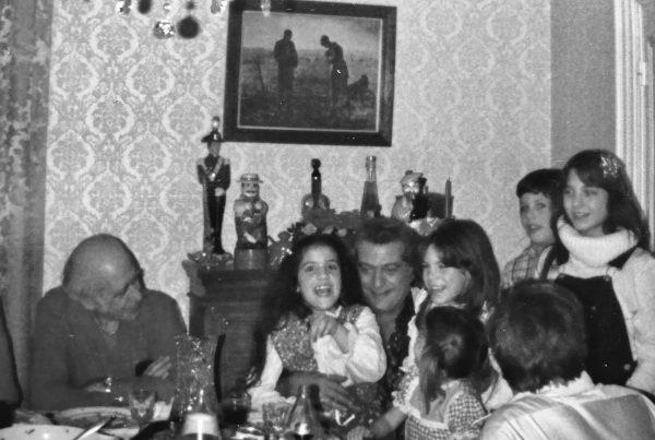 family christmas eve dinner