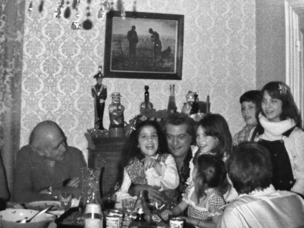 Tringali famili christmas eve dinner