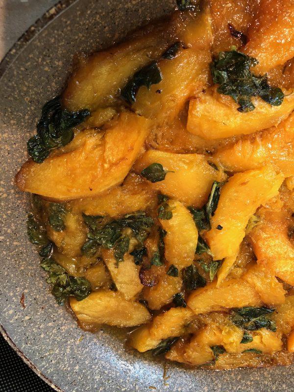 marinated zucca mantovana