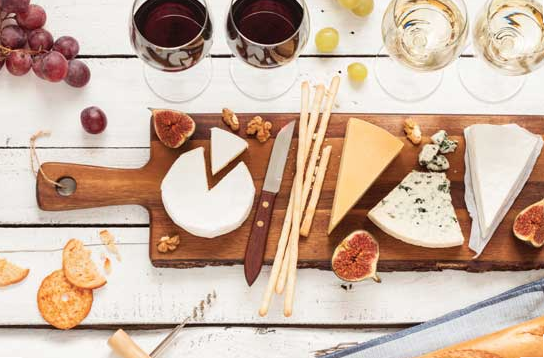 cheese platter accoutrements