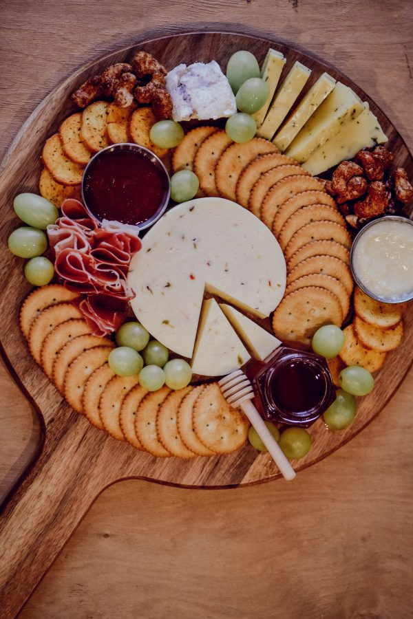 the ideal cheese board