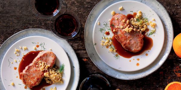 meat dishes: scaloppine