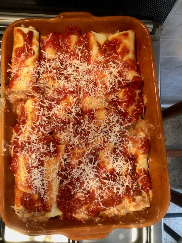 cannelloni in February