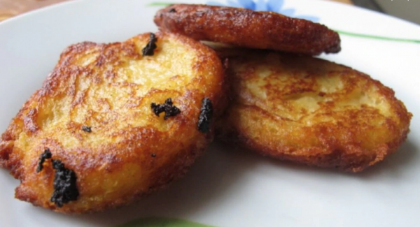 leftover minestrone can become fritters