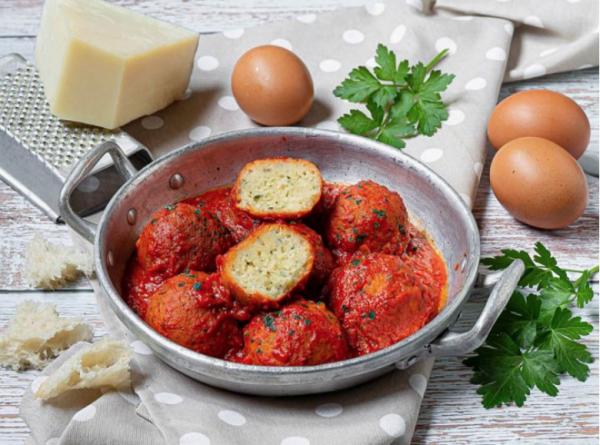 pallotte cacio e ova: Abruzzo recipe made with leftovers