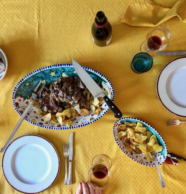 Italian Easter lunch is regional