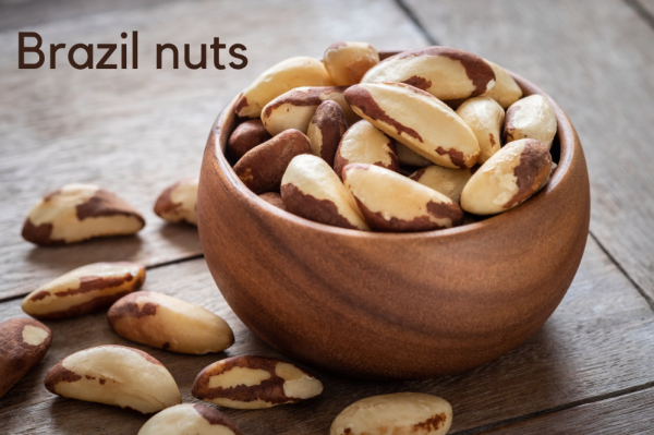brazil nuts are the seeds of a tropical tree