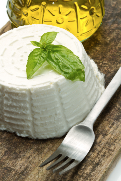 ricotta is among Italy's summer cheeses