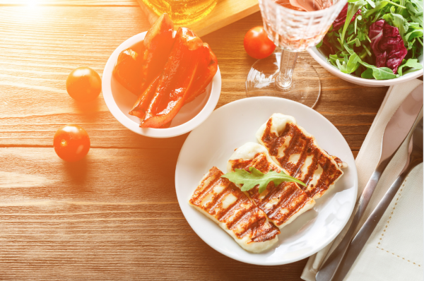 halloumi is perfect for summer
