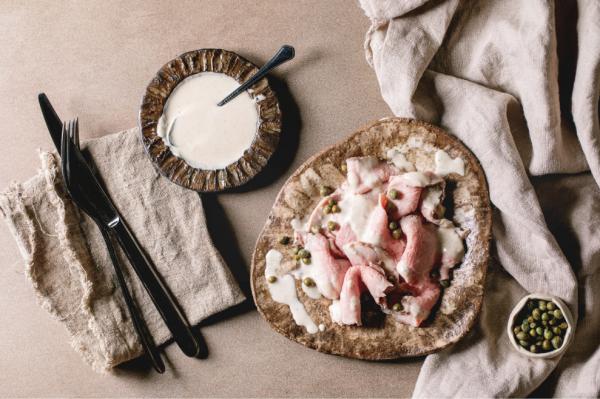 vitello tonnato is a summer dish