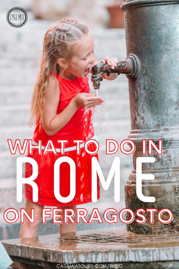 rome on ferragosto