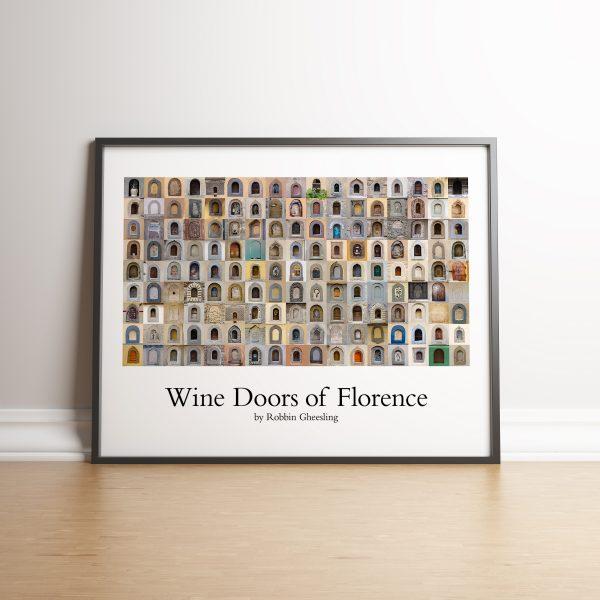 Robbin Gheesling prints The Wine Doors of Florence