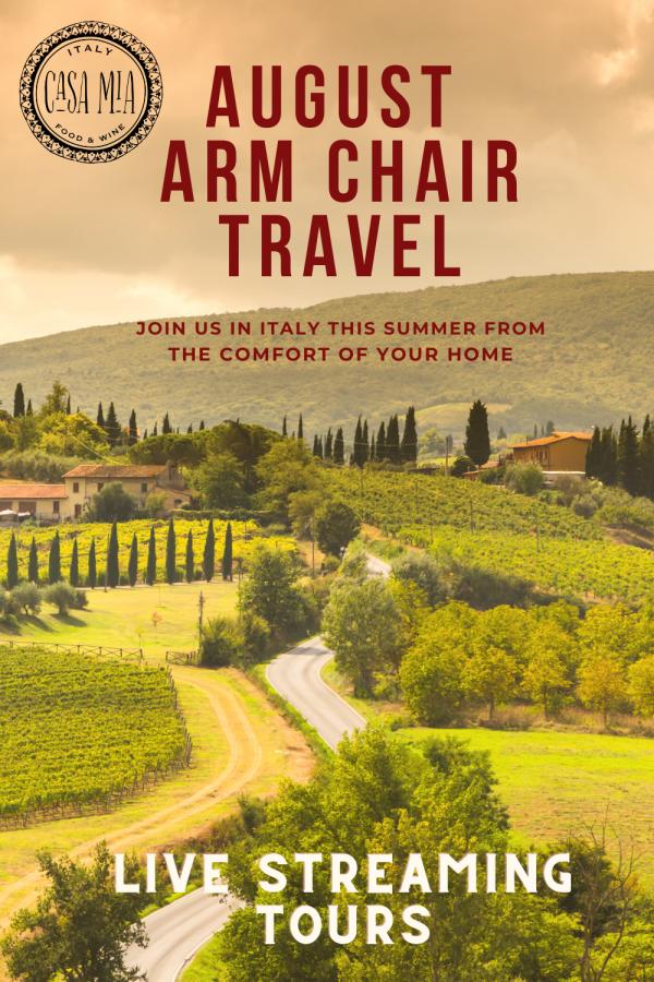 august arm chair travel