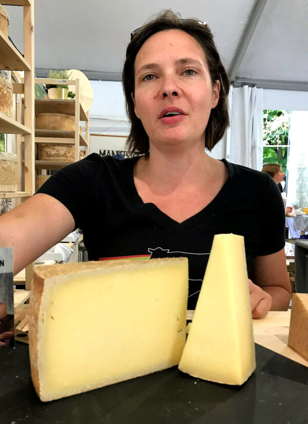 The women in cheese at Cheese festival 2019
