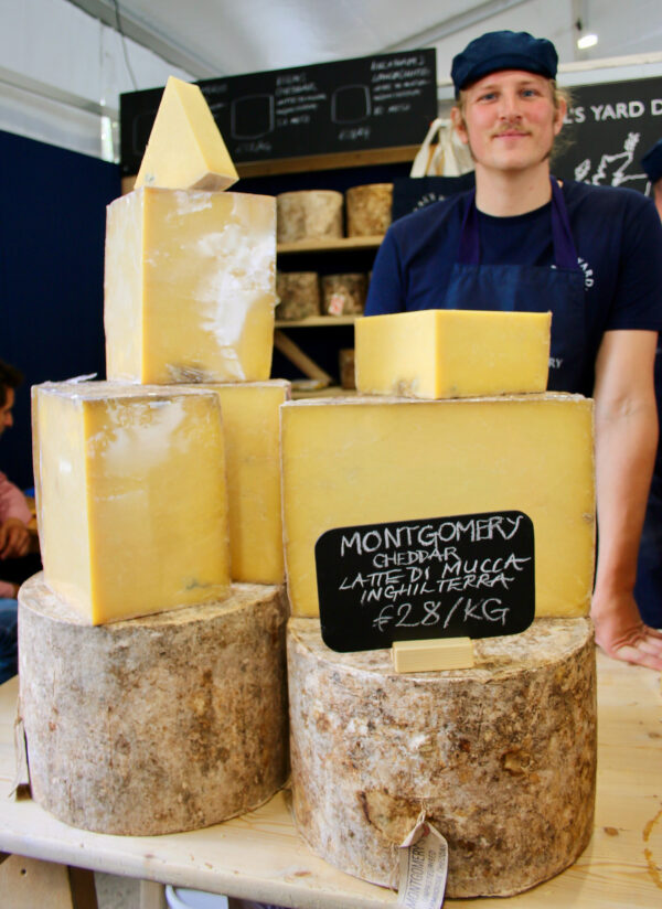 neal's yard dairy at Cheese festival 2019