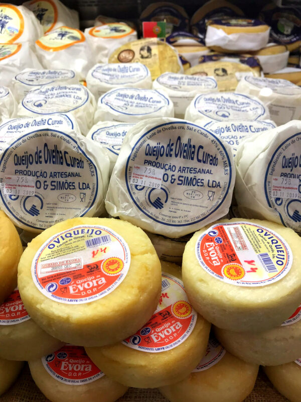 Portuguese cheese at Cheese festival 2019