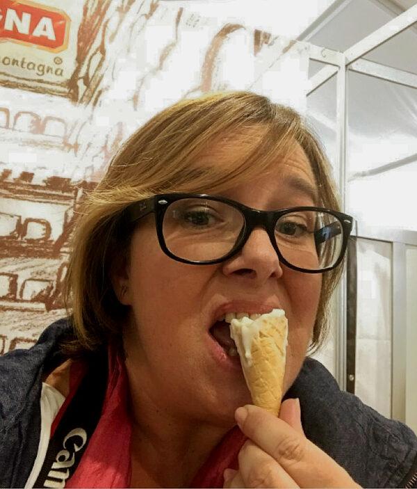 Eleonora at Cheese festival 2019