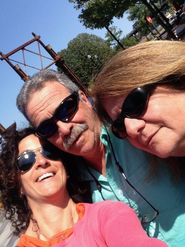 gina, mom, and dad